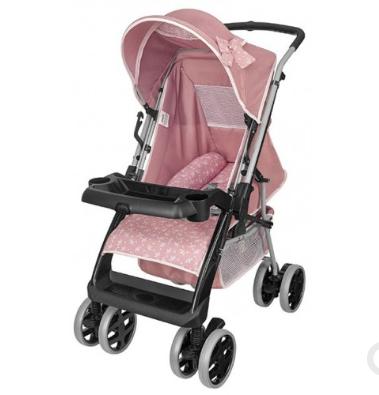 Carrinho P/Bebê Tutti Baby Thor Plus 03900.120 (rosa coroa)