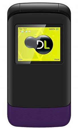 Celular Flip DL Dual YC-230 (roxo)