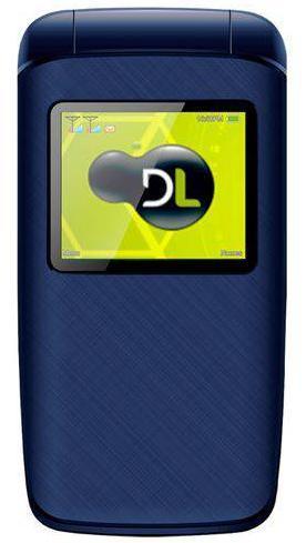 Celular Flip DL Dual YC-335 (Azul)