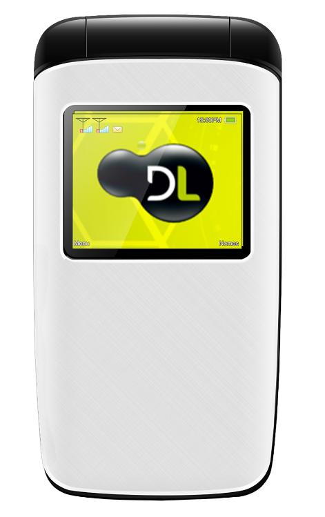Celular Flip DL YC-330 (Branco)