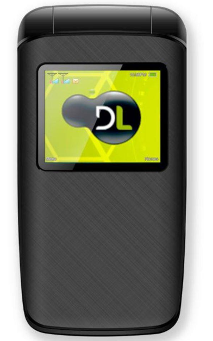 Celular Flip DL YC-330 (Preto)