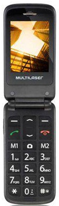 Celular Multilaser Flip Vita Dual P9020  (Azul)