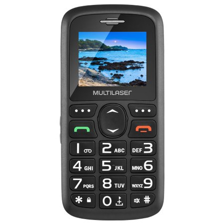 Celular Multilaser Vita Dual P9048 (preto)