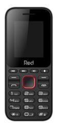 Celular Red Mobile Fit Music M011F (Preto/Vermelho)