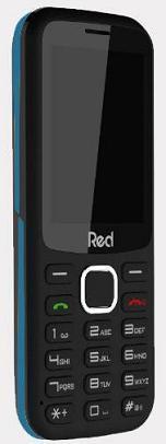 Celular Red Mobile Mega M010F (Preto/Azul)