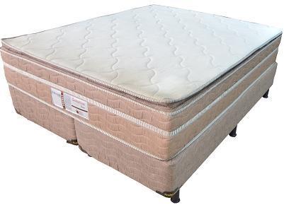 Conjunto Box Queen Mola Probel Sensitive Classic (158x198x58cm) (Marrom)
