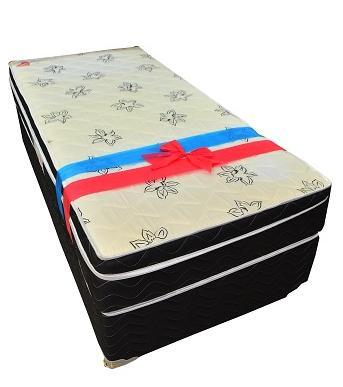 Conjunto Box Solteiro Mola Ortobom Physical Spring (88x188x54cm)