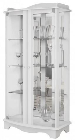 Cristaleira IMCAL Charme 02199 (branco)