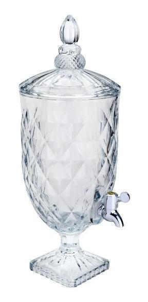 Dispenser De Bebidas 5L Lyor Cristal Diamond 6775 (transparente)