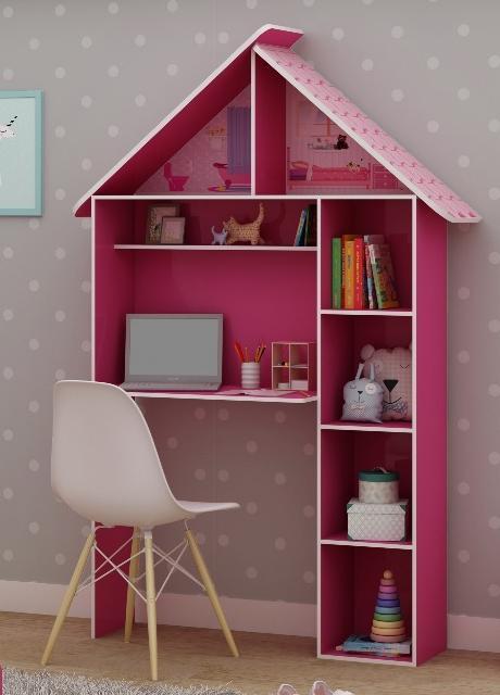 Escrivaninha Gelius Casinha (pink ploc)