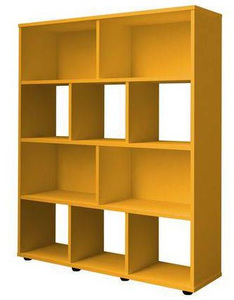 Estante Artely Book (amarelo)