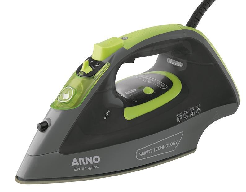 Ferro a Vapor C/Spray Arno Smartgliss FSC1/FV1612B3 (preto/verde)