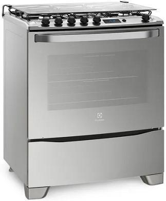 Fogão 5Q Electrolux 76GSR (prata)