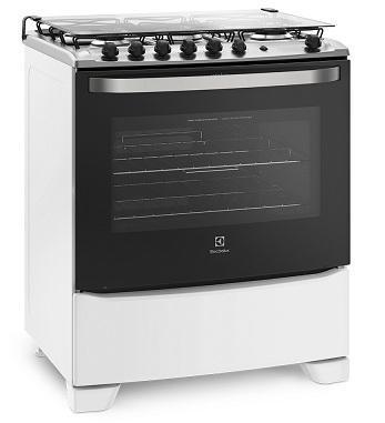 Fogão 5Q Electrolux 76UBQ (branco)