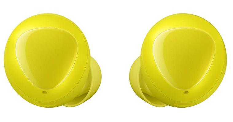 Fone de Ouvido Samsung Galaxy Buds SM-R170NZYAZTO (Amarelo)