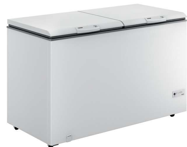 Freezer Horizontal 02 Tampas 534L Consul CHB53EBANA (branco)