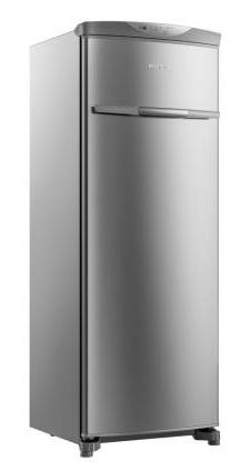 Freezer Vertical Frost Free 228L Brastemp Flex BVR28MKANA (platinum)