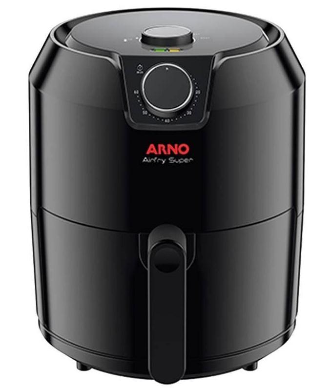Fritadeira Elétrica Sem Óleo 4,2L Arno Airfry Super EY2018B1 BFRY (preto)