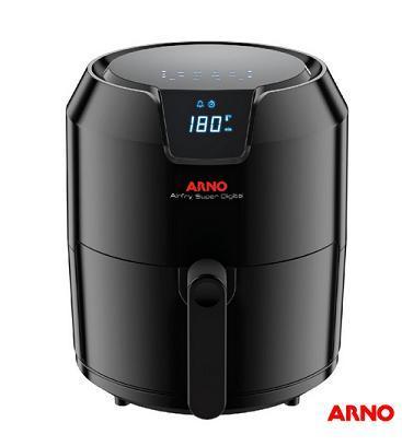 Fritadeira Eletrica Sem Oleo 4,2L Arno Super Digital GFRY/EY4018B1 (preto)