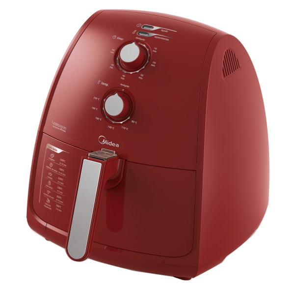 Fritadeira Elétrica Sem Óleo 4 Litros Midea Liva FRV41 (vermelho)