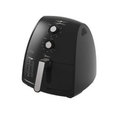 Fritadeira Elétrica Sem Óleo 4L Midea FRP41 (preto)