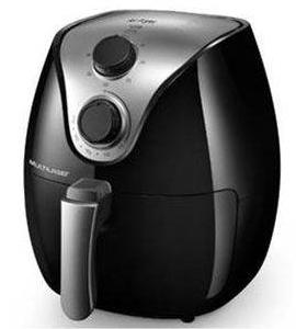 Fritadeira Eletrica Sem Oleo 4L Multilaser Air Fryer CE021 (preto)