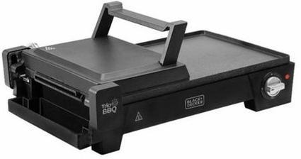Grill Eletrico Black + Decker 3 em 1 G2200-BR (1500w)