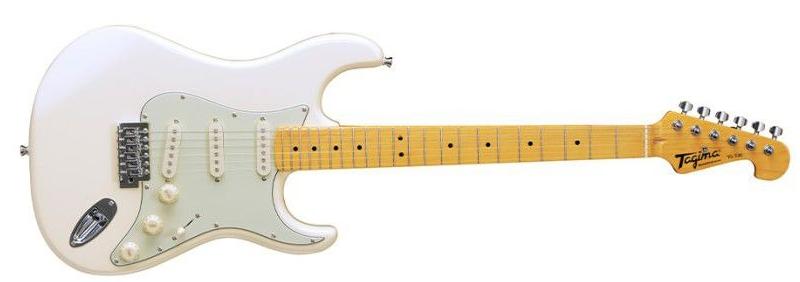 Guitarra Tagima Woodstock TG-530 (branco vintage-wv)