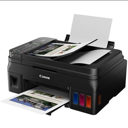 Impressora Multifuncional Tanque De Tinta Canon Megatank G4111