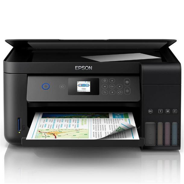 Impressora Multifuncional Tanque De Tinta Epson Ecotank L-4160