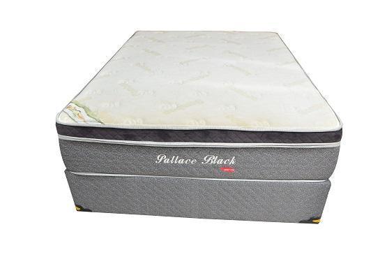 Conjunto Box Casal Mola Herval Pallace Black (138x188x60cm)