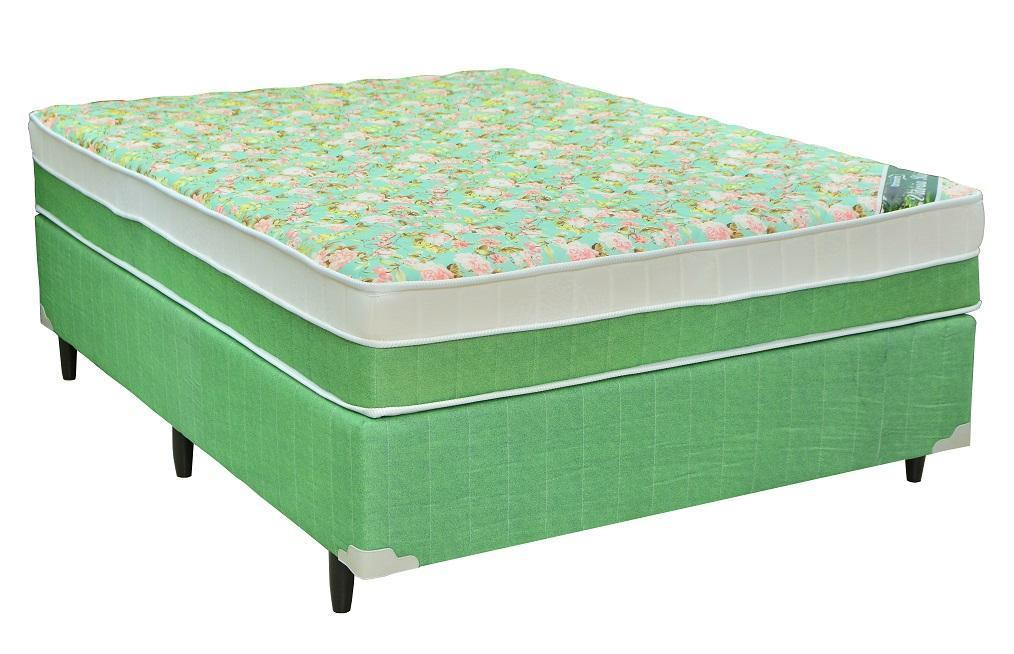 Conjunto Box Casal Mola Ortonorte Vitoria Regia (138x188x52cm) (Verde)
