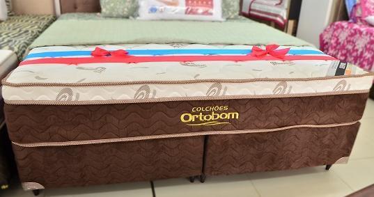 CJ Box King Mola Ortobom Sleep King Pocket - 193x203x62cm