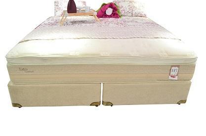 Conjunto Box King Mola Herval Extra Confort (193x203x64cm) (Suede Bege)