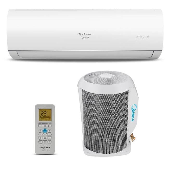Kit-Split Hi Wall 12.000 Btus Springer Midea