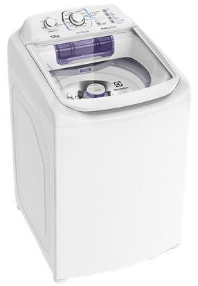 Lavadora de Roupa Automatica 12KG Electrolux LAC12 (branco)