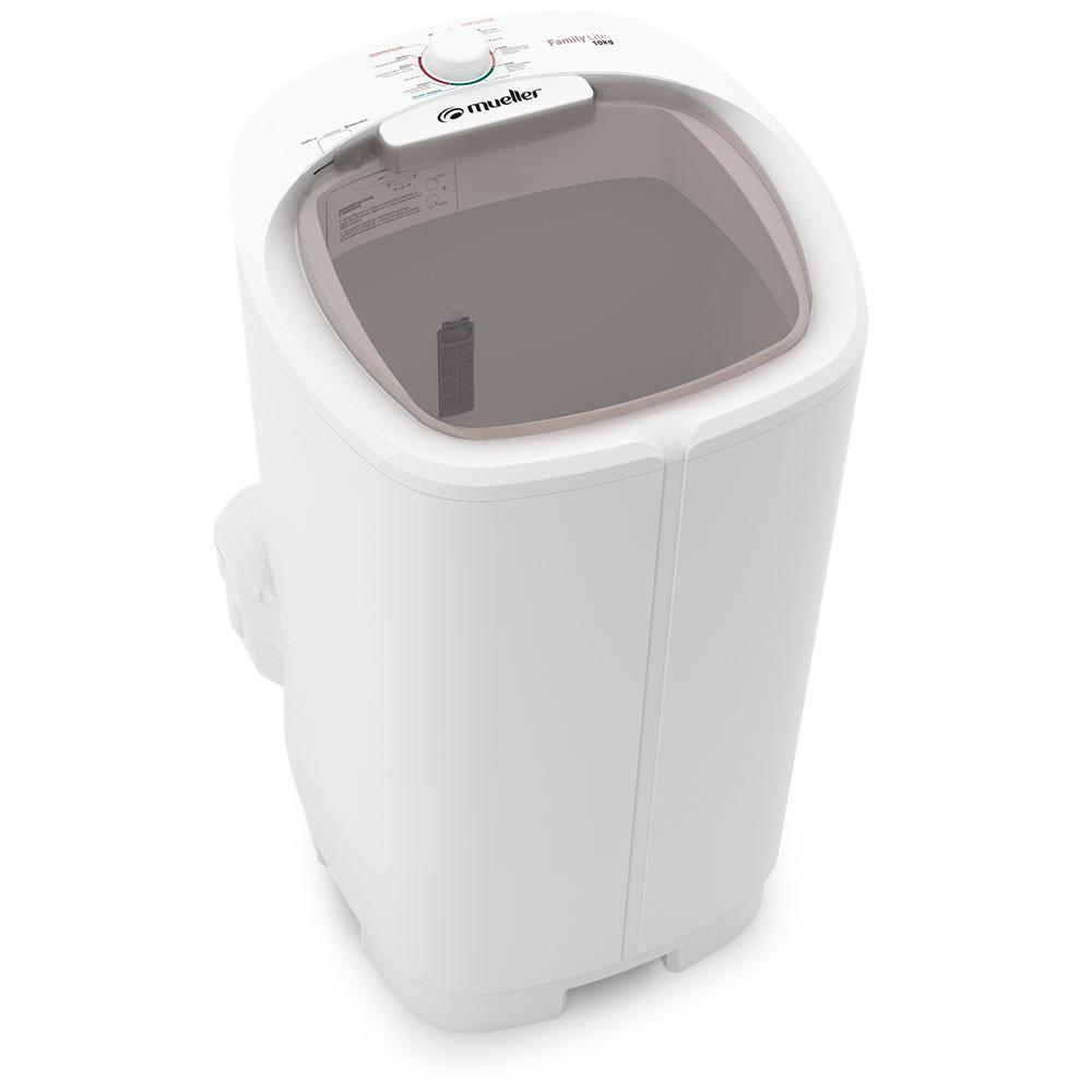 Lavadora De Roupa Semi-Automatica 10KG Mueller Family Lite 600055019 (branco)