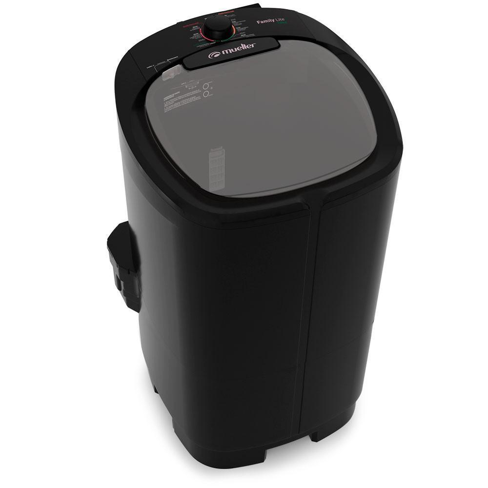 Lavadora De Roupa Semi-Automatica 10KG Mueller Family Lite 600055022 (preto)