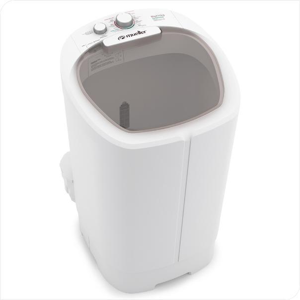 Lavadora De Roupa Semi-Automática 14kg Mueller Big 600058001 (branco)