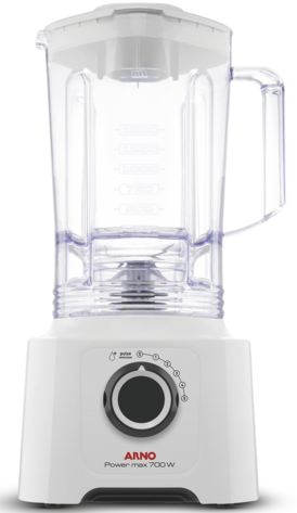 Liquidificador 5V Arno Power Max 700 LN51/LM5501B1 (branco neve)