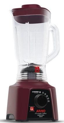 Liquidificador 5V Arno Power Mix Limpa Facil LQ32/LN2867B1 (vinho)