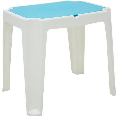 Mesa Plastica Infantil Tramontina Versa 92340/017 (branco/azul)