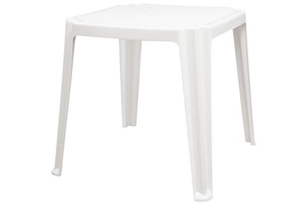 Mesa Quadrada Plastica Tramontina Riviera 92304/010 (branco)