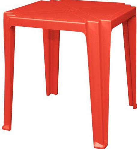 Mesa Quadrada Plastica Tramontina Tambau 92314/040 (vermelho)