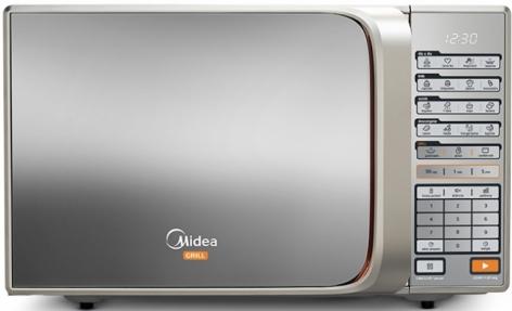 Micro-Ondas 30L Midea Espelhado MTAEG41 (Prata)
