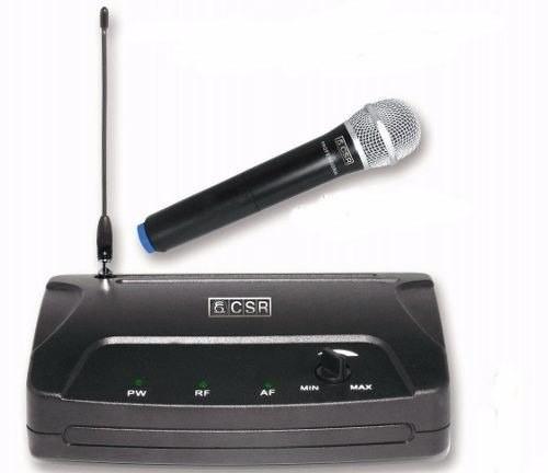 Microfone Sem Fio CSR 104H