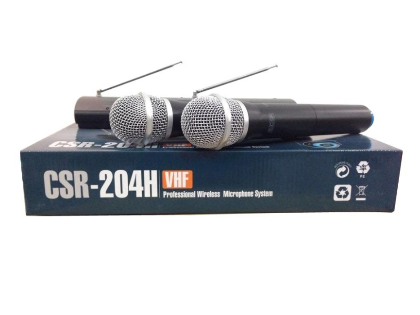 Microfone Sem Fio CSR 204H