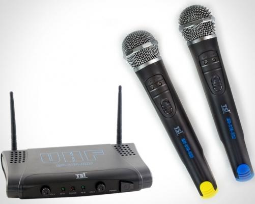 Microfone Sem Fio TSI MS-215-UHF