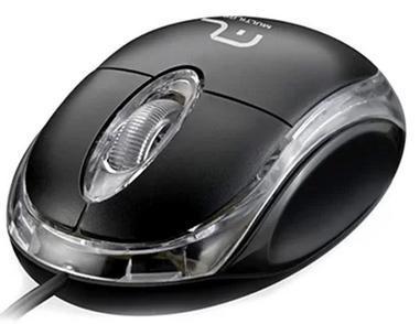 Mouse Multilaser Optico USB MO179 (preto)