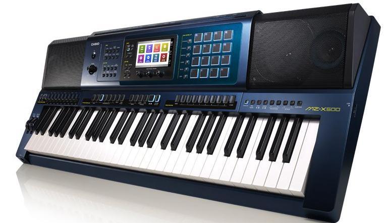 Orgão Musical Casio Arranjador MZ-X500 (azul)